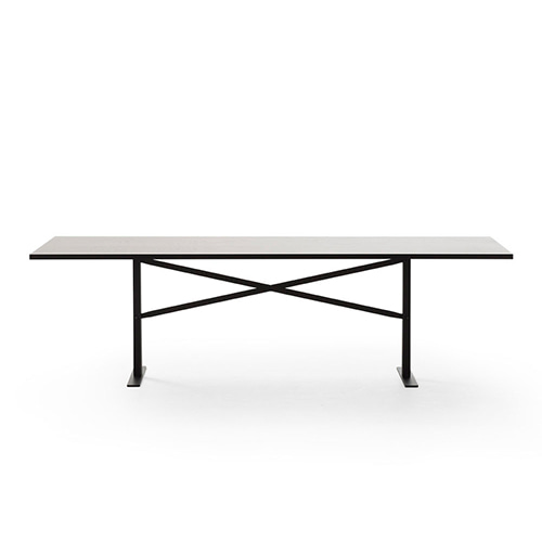 Ferric Table 210 * 100  Black Stained Oak / Black 주문 후 3개월 소요