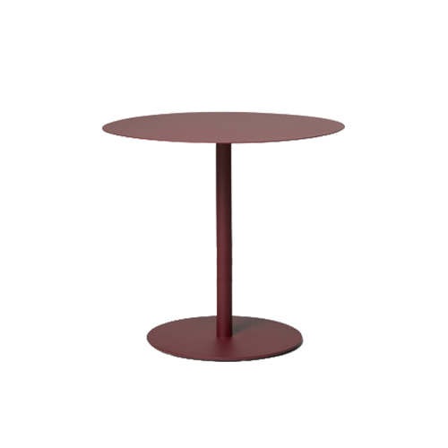 Odette Table Ø75 Wine Red 주문 후 3개월 소요