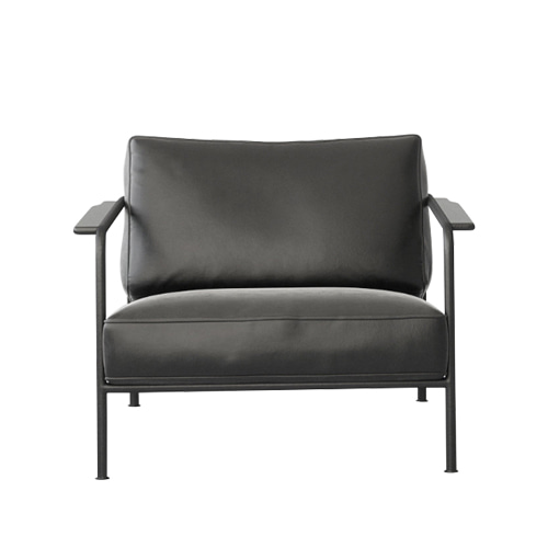 Aero Chair (104-1F-10)Buttero Black Leather