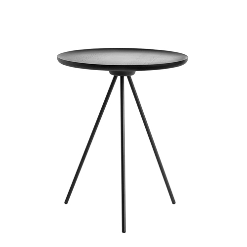 Key Side Table  Black Ash / Black  (10048)