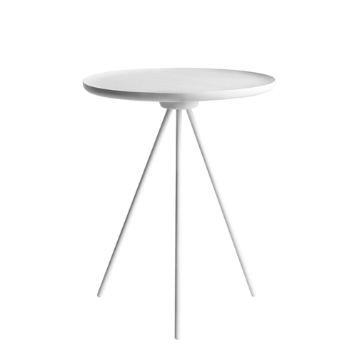 Key Side Table  White Ash / White  (10049)