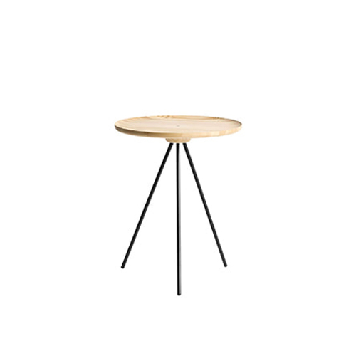 Key side Table Ash / Black