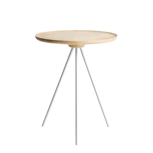 Key Side Table  Ash / White  (10051)