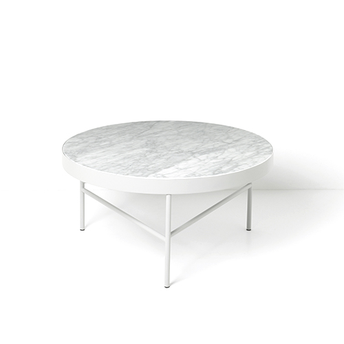 Marble Table Large, White (9317)