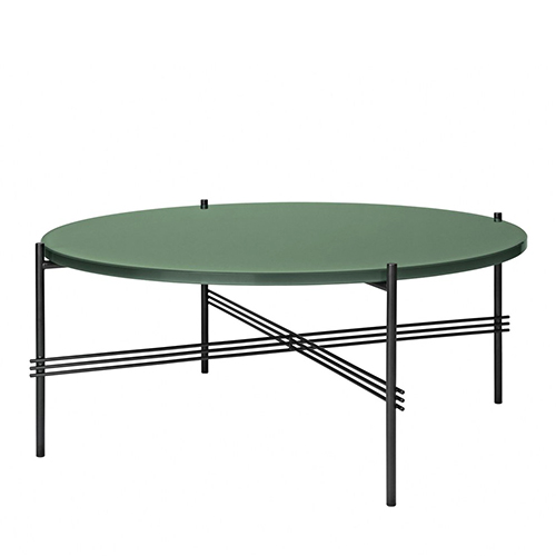 TS Table Ø80 GlassDusty green/black(1009)전화 문의