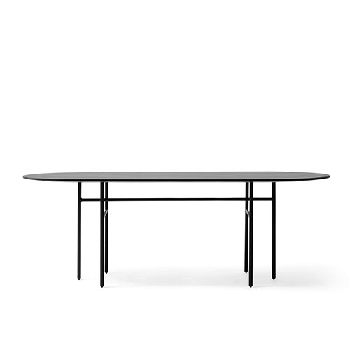 Snaregade Dining Tables, Oval  Black (1151539)