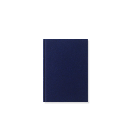 DF Notebook Velour S Ink blue  (001206)