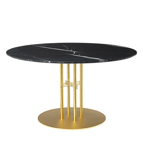 TS Column Dining Table Ø130 Brass base 5colors  주문 후 4개월 소요