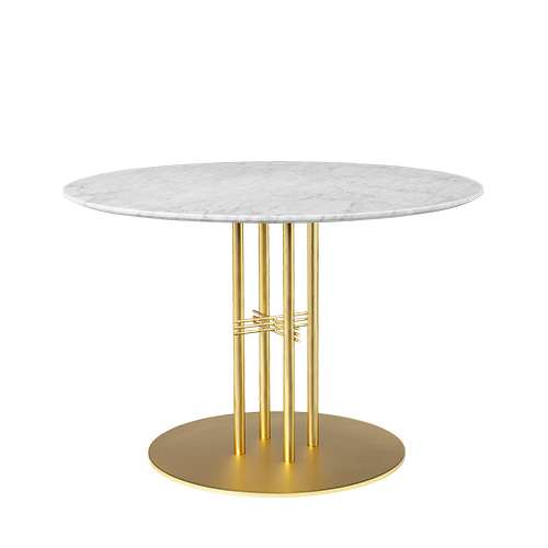TS Column Dining Table Ø110 Brass base 5colors  주문 후 4개월 소요
