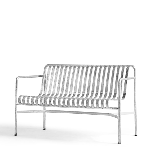 Palissade Dining Bench (812083)Hot Galvanized