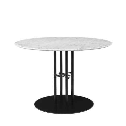 TS Column Dining Table Ø110 Black base 5colors  주문 후 4개월 소요