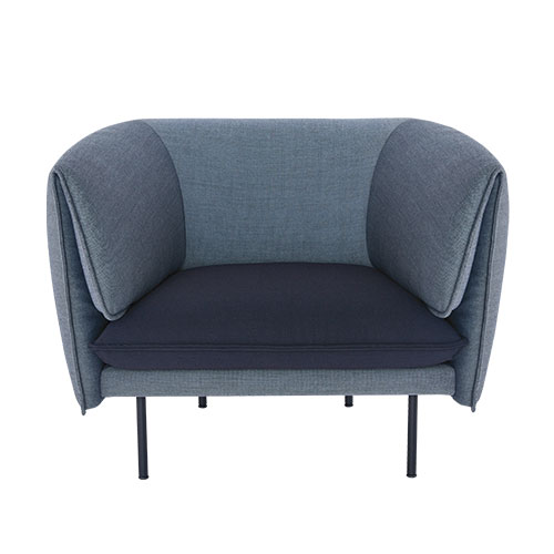 Tilda Sofa 1seater  Mix Gray  주문 후 3개월 소요