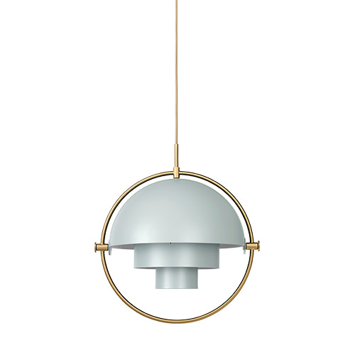 Multi-Lite Pendant sea grey / brass base 주문 후 4개월 소요