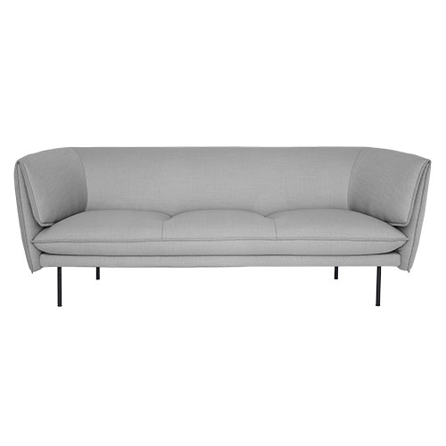 Tilda Sofa 3seater  light grey  주문 후 3개월 소요