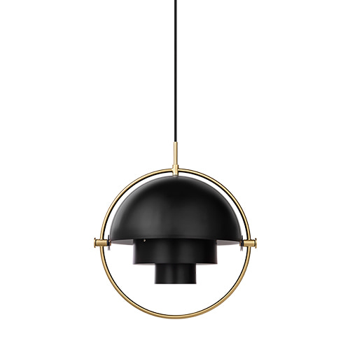 Multi-Lite Pendant black / brass base 주문 후 4개월 소요