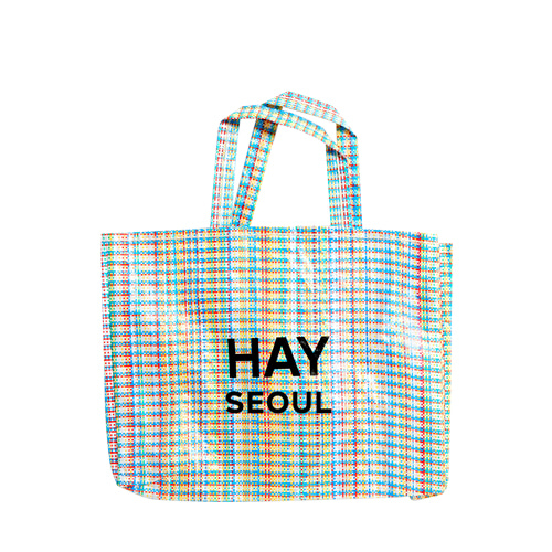 Multi Check Shopper M HAY + SEOUL Logo (009603)