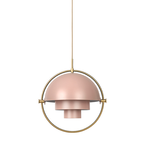 Multi-Lite Pendant rose dust / brass base 주문 후 4개월 소요