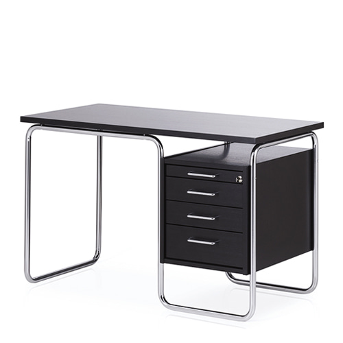 Contor Desk SBlack Stained Ash/Chrome Frame주문 후 4개월 소요