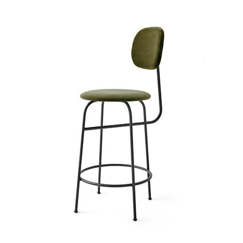Afteroom Counter Chair Plus 9425469  City Velvet #CA7832/031/Black