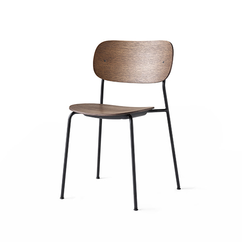Co Dining Chair 1160849 Dark Stained Oak/Black Steel주문후 4개월 소요