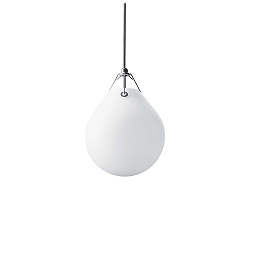 Moser Pendant  Matt White Opal Glass 2sizes
