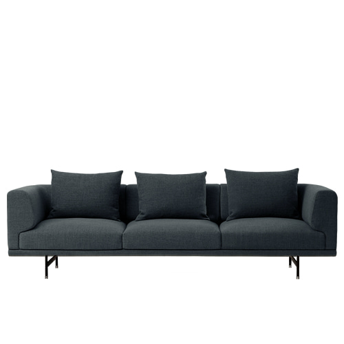 Chimney sofa 3 Seater Dark blue (Latenzo#00048)주문 후 4개월 소요