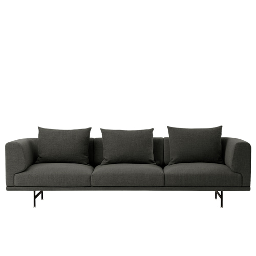 Chimney sofa 3 Seater Graphite (Latenzo#00066)주문 후 4개월 소요