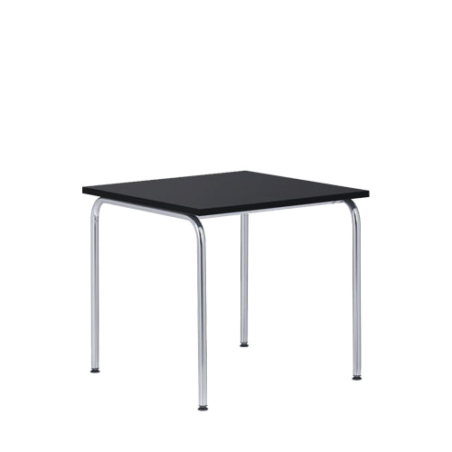 Akiro 426 Table W600 Melamine Black top/Chrome Frame(0426) 7월 중순 입고 예정