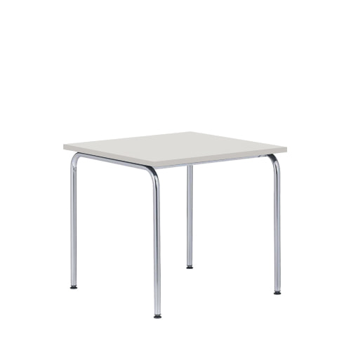 Akiro 426 Table W600 Melamine Light Grey Top top/Chrome Frame(0426) 7월 중순 입고 예정