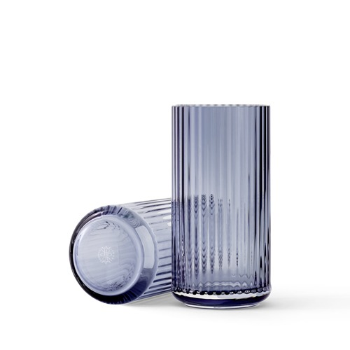 Lyngby Glass Vase H205 Midnight Blue (201121)