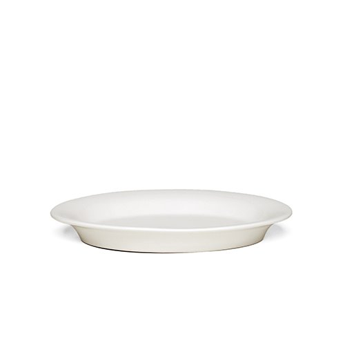 Ursula Oval Plate 691945 White 22*16cm  1월 말 입고 예정
