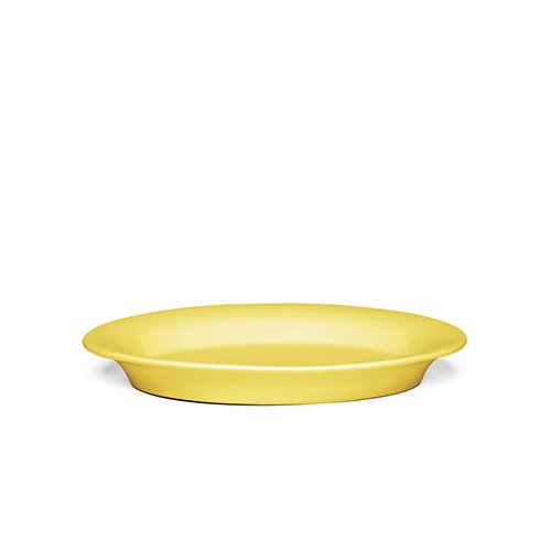 Ursula Oval Plate 691946 Yellow 22*16cm  1월 말 입고 예정