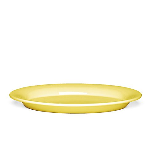 Ursula Oval Plate 691944 Yellow 28*18.5cm  1월 말 입고 예정