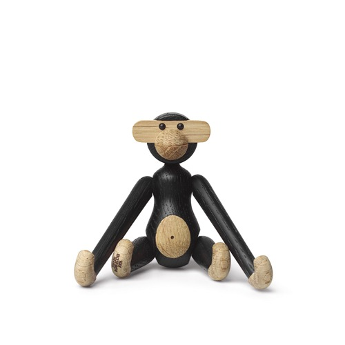 Kay Bojesen Monkey Mini Black Stained Oak (39276)