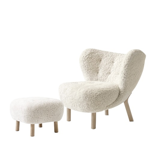 [Campaign] Little Petra VB1 incl. Pouf Sheepskin Moonlight/Oak(69112914)주문 후 4개월 소요