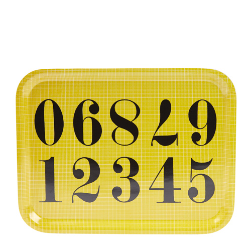 #Eames Tray Large Numbers [EA60]