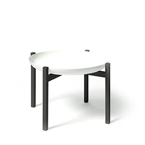 *Tablo Side Table Low (H 40cm)White Top
