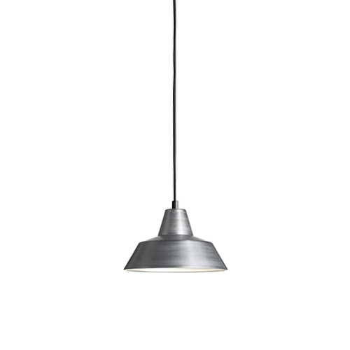 #Workshop Lamp W1, (Ø18cm)aluminium(W1014AL)
