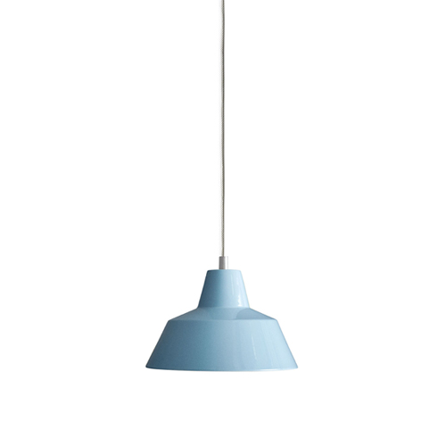 #Workshop Lamp W2, (Ø28cm) petroleum blue (W2013PB)