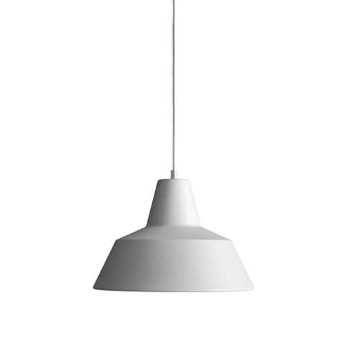 #Workshop Lamp W3, (Ø35cm) matt white(W3017M)