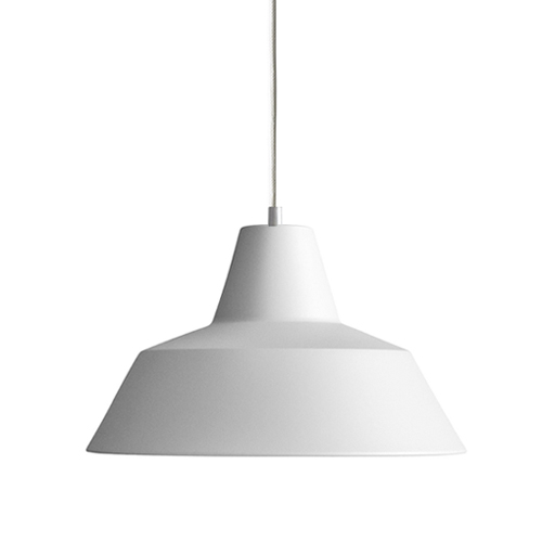 #Workshop Lamp W4, (Ø50cm)matte white(W4017M)
